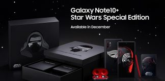 Galaxy Note10+ Star Wars