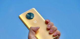 OnePlus 7T auriu