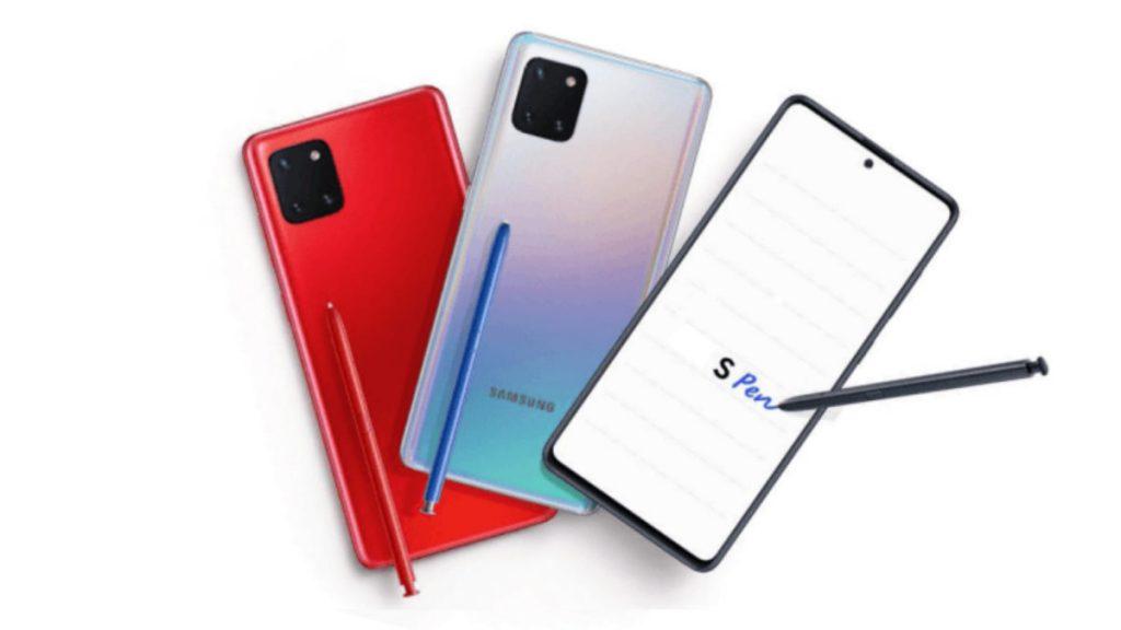 La începutul lunii ianuarie, odată cu CES 2020 e posibil să vedem două noi modele din seria Samsung Galaxy S10: S10 Lite și Note 10 Lite.