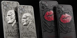 iPhone Mike Tyson