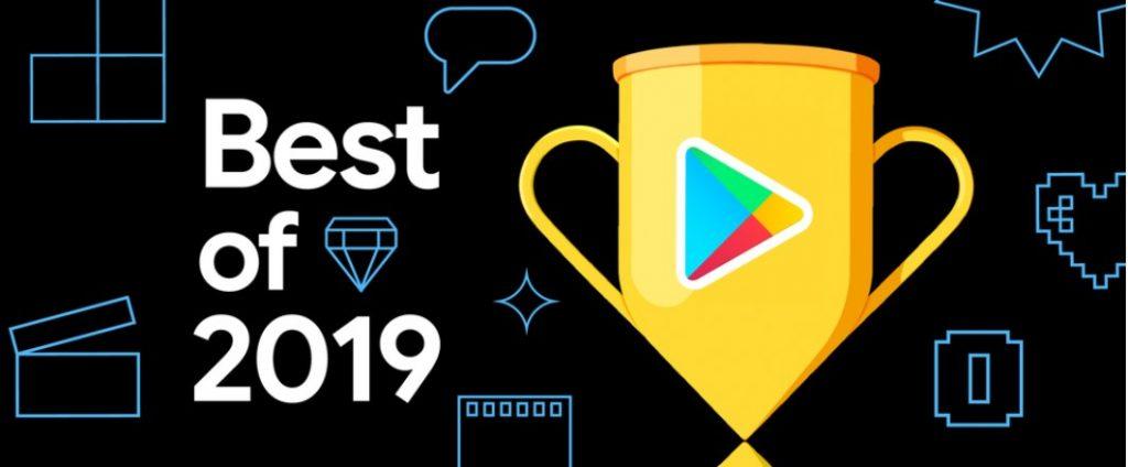 Aproape de finalul lui 2019 Google a publicat lista celor mai bune titluri (jocuri, aplicatii, filme) din Play Store.