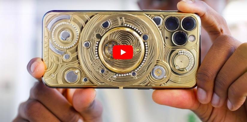 Așa arată Solarius Zenith iPhone 11 Pro de la Caviar, un gadget de peste 100000 USD.