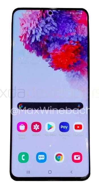 Acesta ar trebui să fie următorul flagship Samsung Galaxy S20, în varianta 5G.