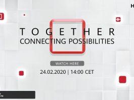 Pe 24 februarie,de la ora 15:00 Huawei va prezenta noua serie de smartphone-uri, inclusiv Mate Xs.