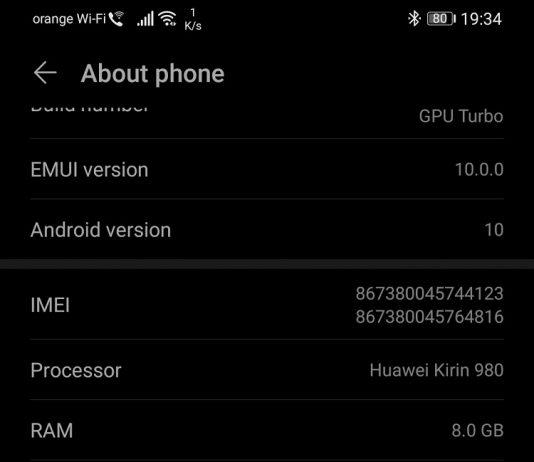 În sfârșit am instalat Android 10 pe Huawei P30 Pro, cu firmware Orange folosind un truc vechi.