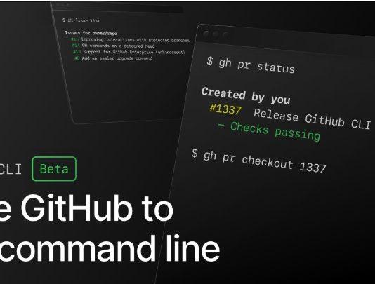 Microsoft oferă GitHub CLI în stadiul beta, pentru interacțiunea GitHub din linie comandă.