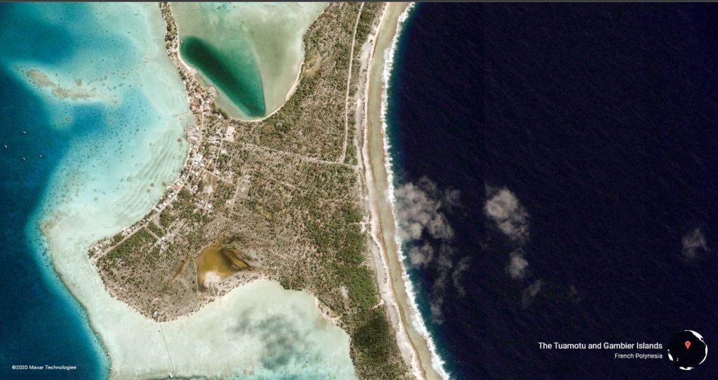 O imagine din colecția de wallpaper-uri Google Earth, ce reprezintă poze din satelit cu diverse locații de pe Pământ.