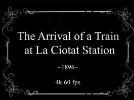 Folosindu-se de rețele neurale, Denis Shiryaev a reușit să facă un material 4K la 60 fps din primul film al fraților Lumiere, Arrival of a Train at La Ciotat.