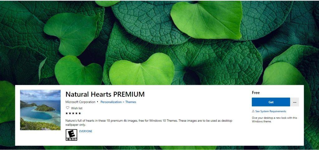 Natural Hearts PREMIUM este o colecție de 18 imagini 4K cu peisaje din natură, creat special pentru Valentines Day.