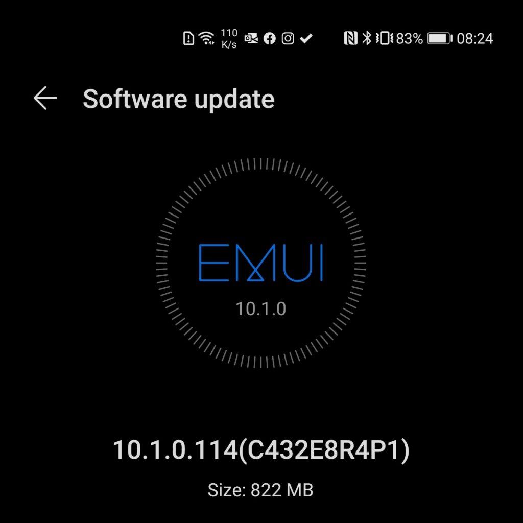 Huawei P40 Pro primește update-ul de firmware 10.1.0.114 (C432E8R4P1) ce aduce îmbunătățiri substanțiale legate de Camera, sunet și performanță.