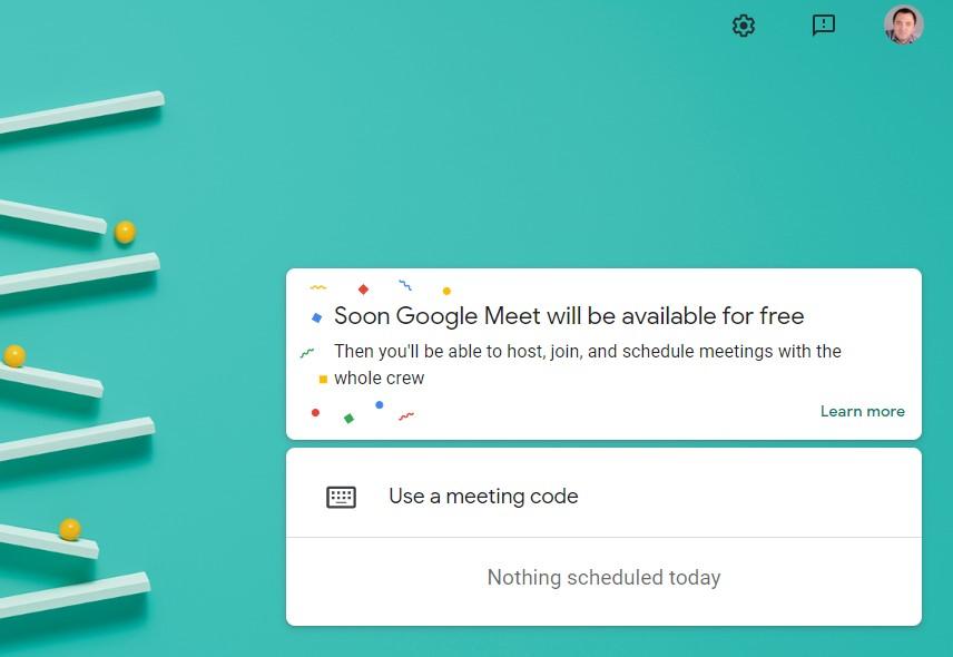 După Zoom și Microsoft s-a trezit și Google să ofere opțiunea de gratuitate pentru organizarea conferințelor Meet. La un moment dat o să și funcționeze.