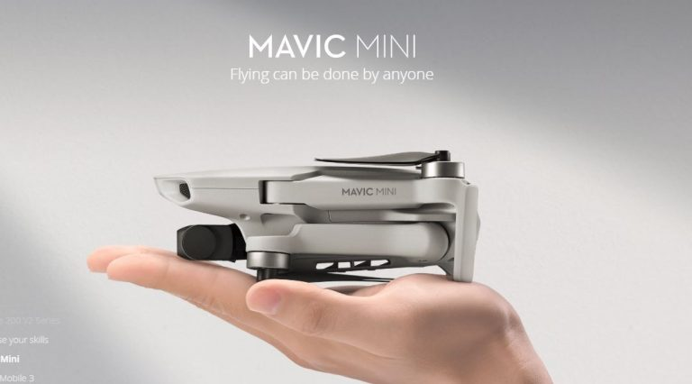 Excelent: drona Mavic Mini primeste optiunea de control manual al expunerii pentru video