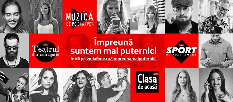 odafone asigură buna dispoziție de 1 mai! Toată România este invitată la o serie de concerte de (3) zile mari!