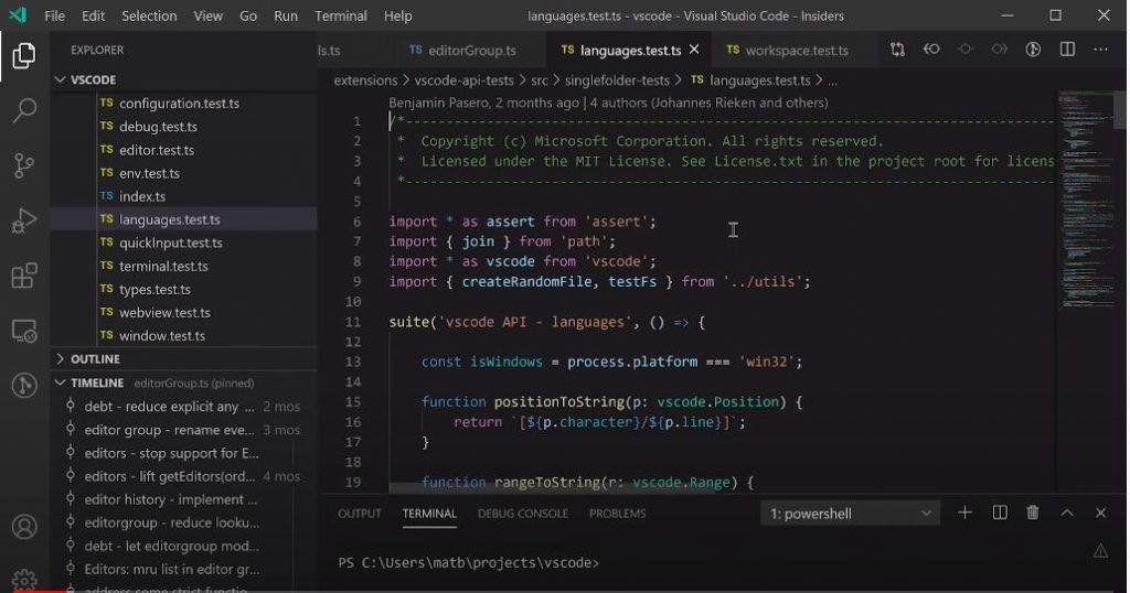 Vă recomand să urmăriți această inregistrare a unei sesiuni de la BUILD 2020 în care sunt prezentate 20 de sfaturi de optimizare a lucrului cu Visual Studio Code.