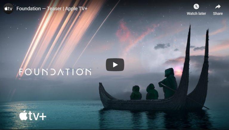Un serial facut dupa Fundatia lui Asimov vine pe Apple TV+
