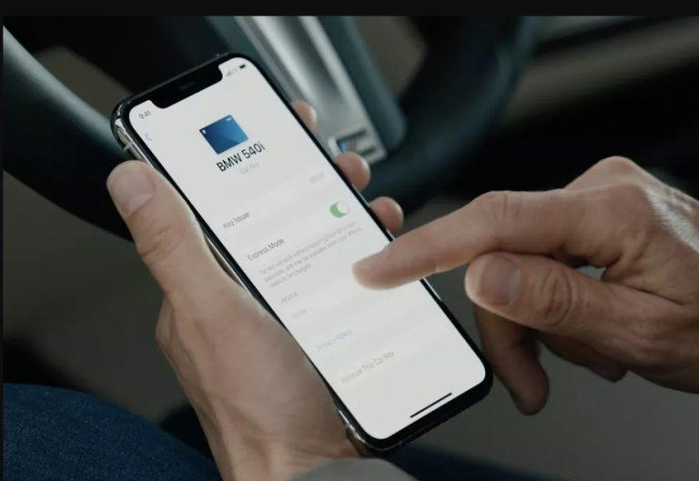 Apple anunta CarKey solutia digitala wireless din telefon pentru deschiderea si pornirea masinii