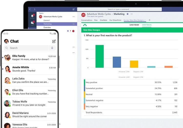 Microsoft a introdus două noi funcții faine în Teams: posibilitatea de a interconectare cu Skype și deschiderea de conversații în ferestre separate.
