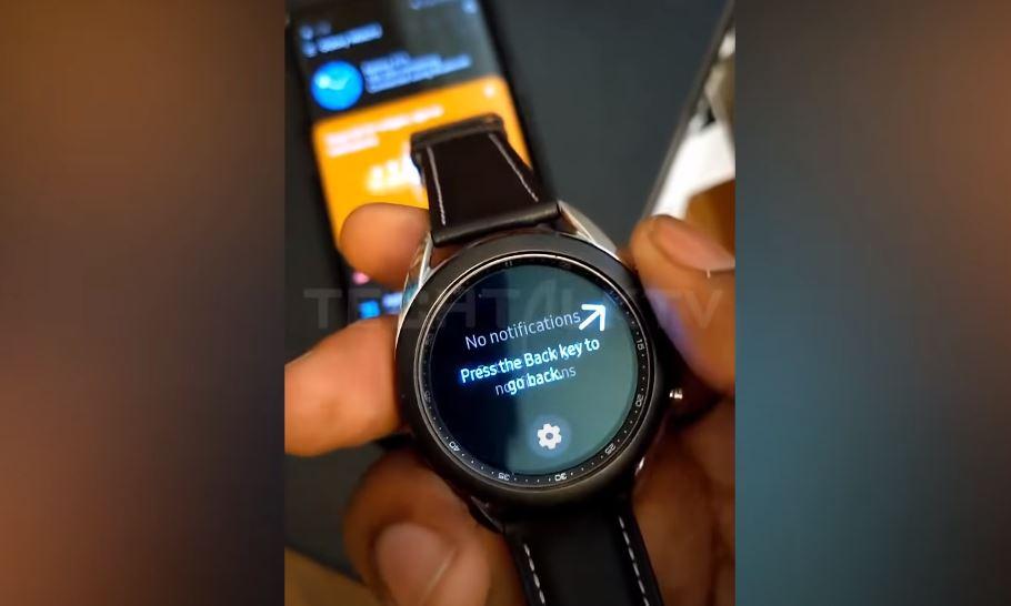 Acesta pare să fie viitorul Samsung Galaxy Watch 3 ce va fi prezentat oficial la evenimentul Unpacked 2020 din 5 august.