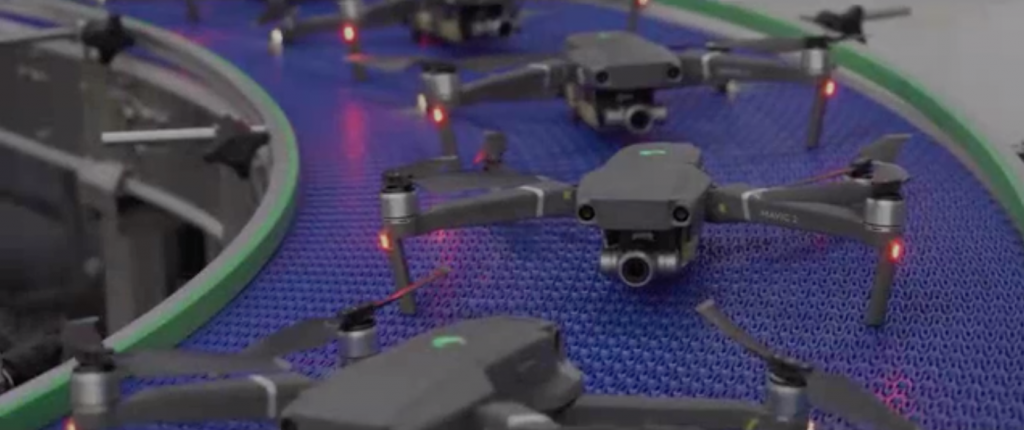 DJI a lansat pe site-ul de social media Weibo un scurt material video în care ne arată cum sunt produsele dronele DJI.