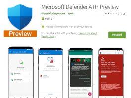 Soluția de protecție anti-virus/anti-malware Microsoft Defender e disponibilă în Play Store.
