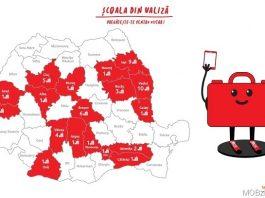 """Vodafone a strans 80000 EUR in campania """"Împreună nu lăsăm nicun elev în urmă"""" si dubland suma, a dotat cu 1200 de tablete 40 de scoli din Romania."""