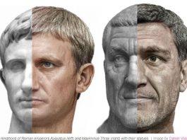 Daniel Voshart a antrenat un algoritm AI pentru a genera imagini cu fețele acestora, pe care apoi le-a prelucrat în Photoshop pentru a le reda culoare și textură