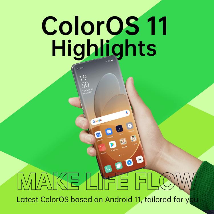 Oppo a anunțat astăzi versunea beta a propriului sistem de operare ColorOS 11, construit pe Android 11.