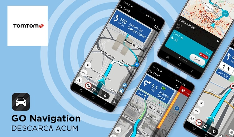 Aplicația de navigație asistată de GPS TomTom GO ajunge în magazinul AppGallery al Huawei, permițând utilizatorilor să o instaleze fără probleme.