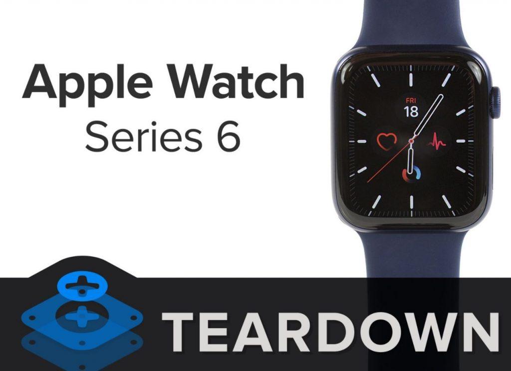 iFixit a desfăcut un Apple Watch Series 6 pentru a ne permite să vedem cum e construit și cât de ușor se poate repara.