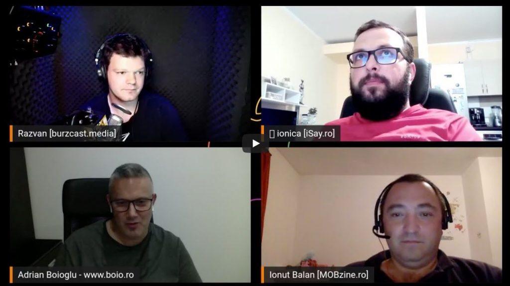 Împreună cu Răzvan Burz, Adrian Boiologu și Ionel Rohneanu o să facem un live vlogging în timpul keynote-ului Apple iPhone 12 și o să discutăm live despre iPhone 12 și ce produse vor mai fi prezentate.