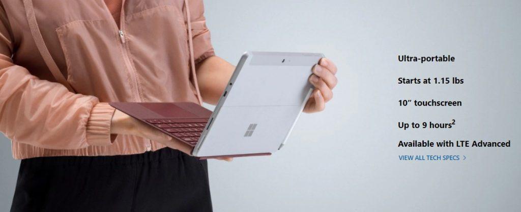 Laptop-urile Surface Go și Surface X, lansate astăzi de către Microsoft, sunt disponibile și în România.