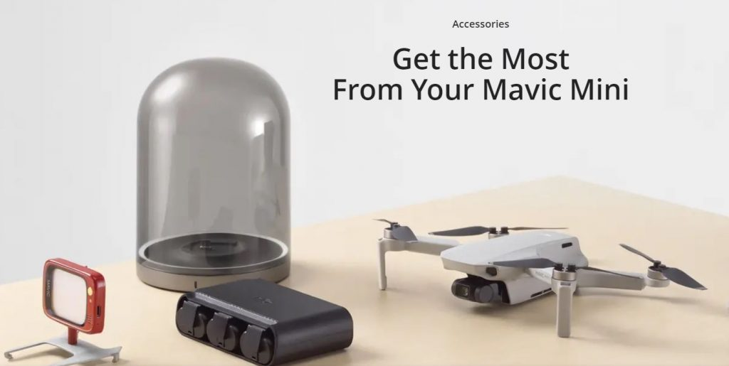 Anul trecut DJI a lansat cea mai mică dronă a sa - Mavic Mini, ce cântărește doar 249g și filmează 2.7K. Anul acesta așteptăm un model cu suport 4K.