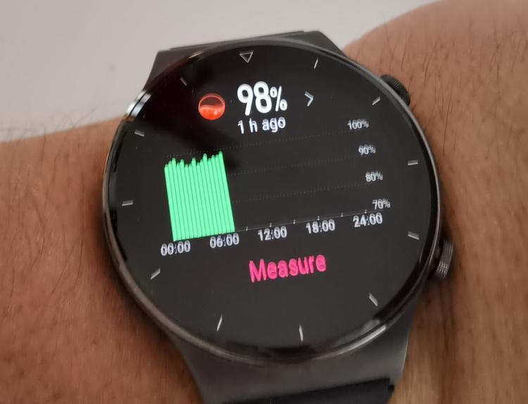 Funcția de monitorizare permanentă a oxigenării sângelui (SpO2) funcționează acum pe Huawei Watch GT2 Pro din aplicația Health.