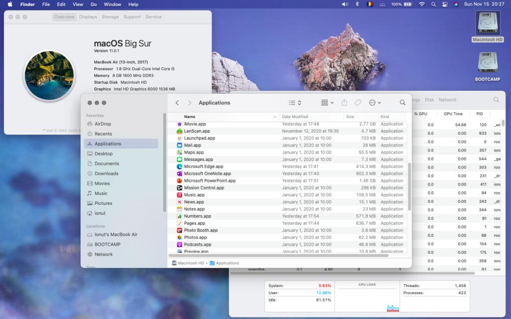 Noul sistem de operare macOS 11 Big Sur e disponibil pentru download. L-am pus și eu rapid, iar primele impresii sunt pozitive.