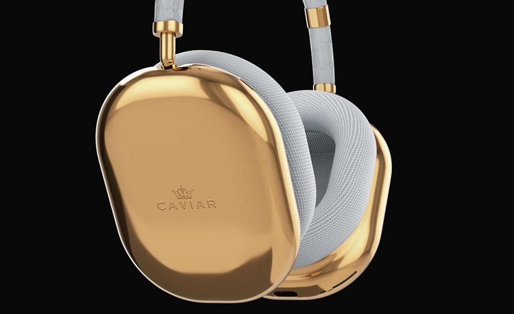 Da, ați citit bine: căști Apple AirPods Max la 108000 USD, realizate din aur de către Caviar. Doar pentru audiofili.
