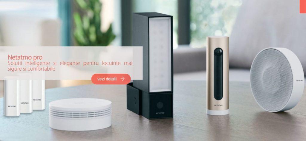 Legrand lansează în România cea mai simplă soluție completă pentru case inteligente, Valena Life/Allure with Netatmo.