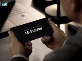 la CES 2021 LG a prezentat sumar conceptul său de telefon cu ecran ce se poate rula.