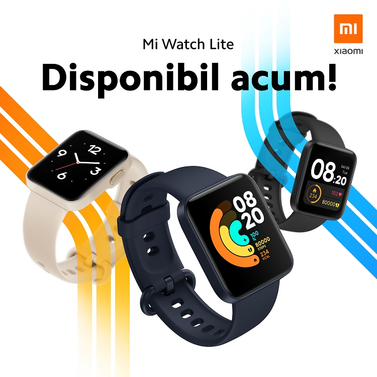 Cesul smart Xiaomi Mi Watch Lite a ajuns în România cu un preț de 239 LEI.