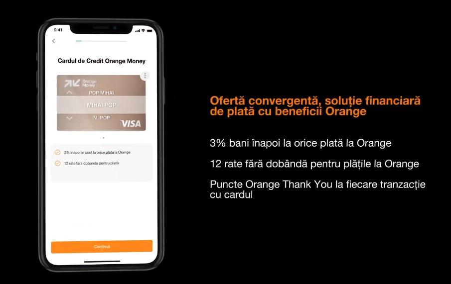 Orange Money a lansat astăzi un card de credit VISA cu pachete de beneficii ce pot fi configurate de către beneficiar.