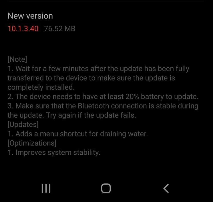 Ceasul smart Huawei Watch GT2 Pro a primit un nou update de firmware (10.1.3.40) ce vine cu îmbunătățiri de performanță și o funcție nouă.
