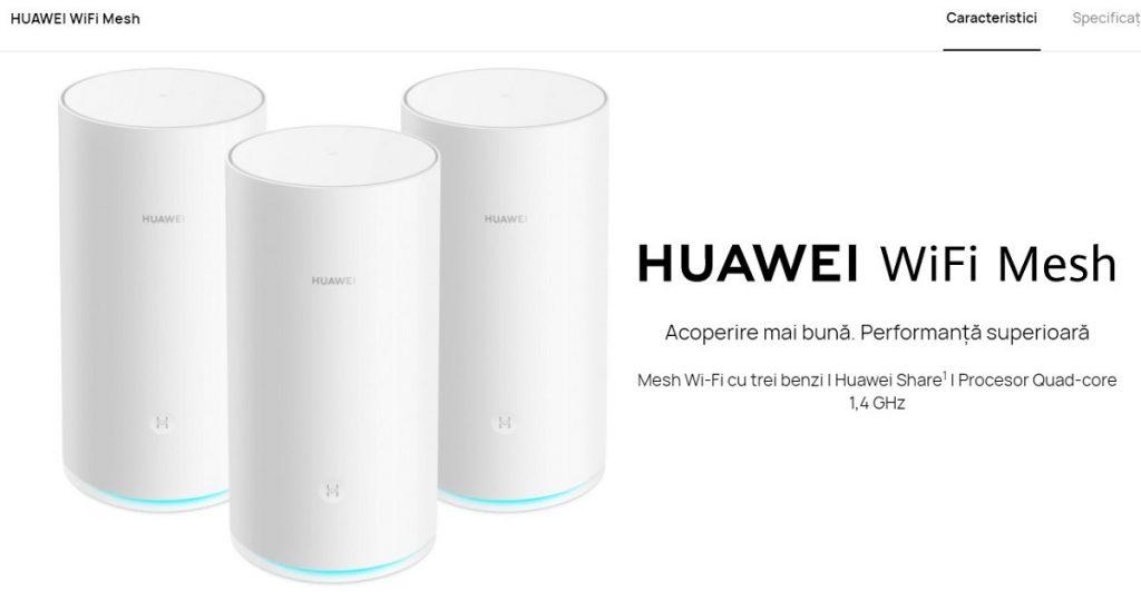 WiFi Mesh este un sistem WiFi cu 3 benzi construit pentru a oferi o acoperire cât mai bună și viteză crescută pentru rețeaua de acasă.