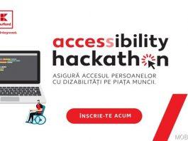 """Vreau să vă supun atenției faptul că în perioada 16 aprilie – 13 mai va avea loc exclusiv online evenimentul """"Accessibility Hackathon"""" ce pune în joc un premiu în valoare de 16.000 de dolari"""