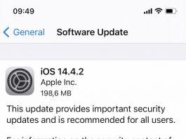 Este disponibil update-ul iOS 14.4.2 ce repară o vulnerabilitate critică în WebKit ce este deja exploatată de către hackeri.