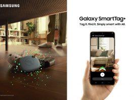Galaxy SmartTag+ este un dispozitiv IoT ce se poate lega fizic de obiectele importante pentru a ajuta la găsirea lor rapidă. SmartTag+ va fi disponibil începând cu 16 aprilie.