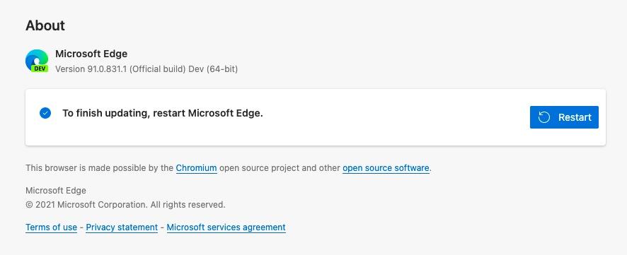 Noul browser Microsoft Edge Chromium a ajuns la aproape 8% din cota de piață în condițiile în care acum un an avea doar 0.57%!
