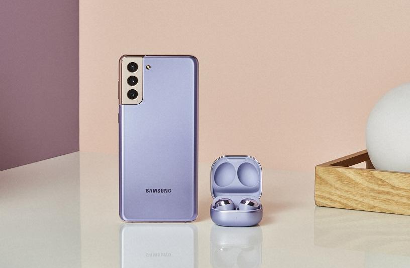 La achiziția oricărui smartphone din seria Galaxy S21/S21+ veți primi gratuit un set de căști wireless Galaxy Buds+, adică primiți un bonus de aproape 700 lei.