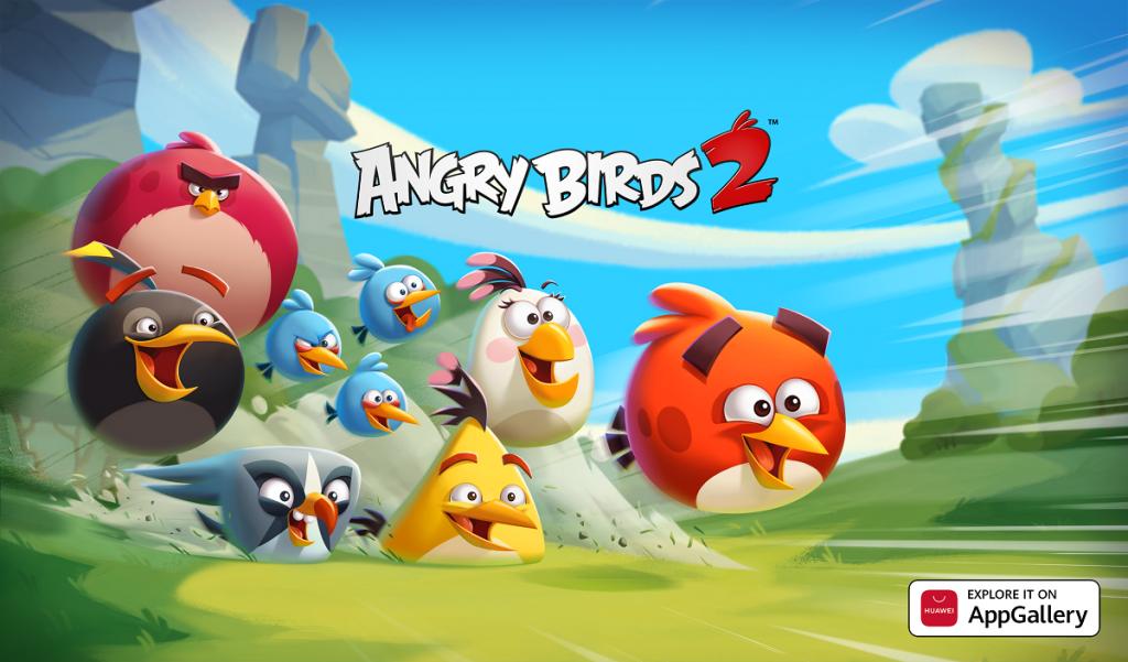 Celebrul joc Angry Birds 2 dezvoltat de Rovio poate fi instalat pe aparatele Huawei direct din magazinul AppGallery.