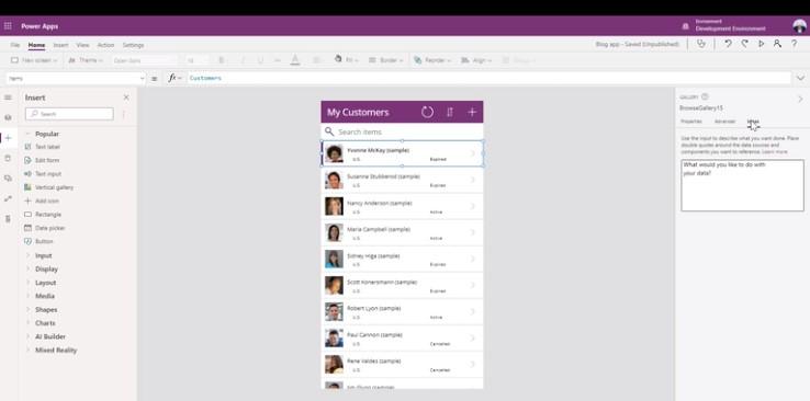 Microsoft: folositi vorbirea pentru a scrie cod functional in Power Apps
