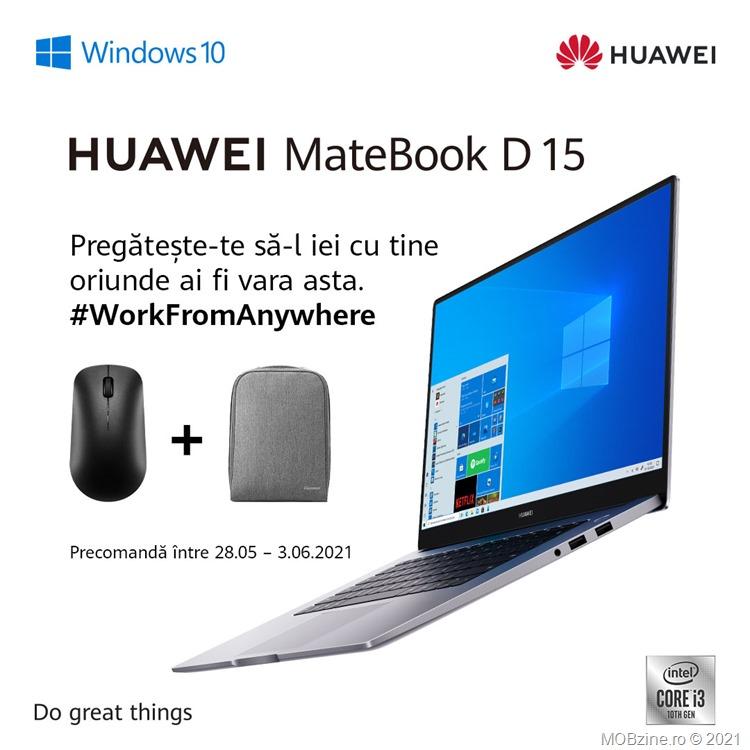 Promoție MateBook D15