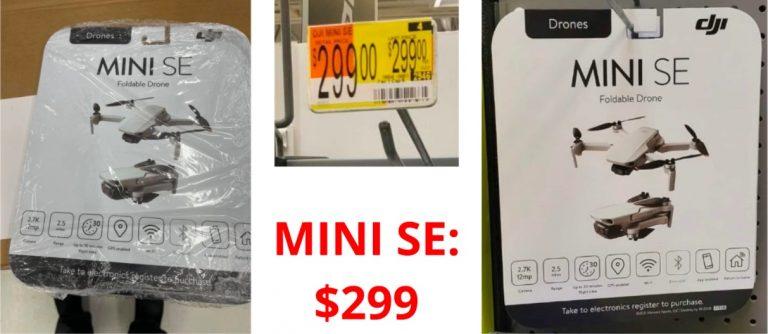 Până la urmă DJI Mini SE e un produs real, la 299 USD!